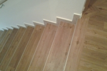 Treppe mit Deignboden